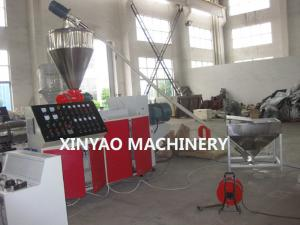 China SBG250 PVC, UPVC Double Wall Corrugated Pipe Machine with Conical twin screw on sale