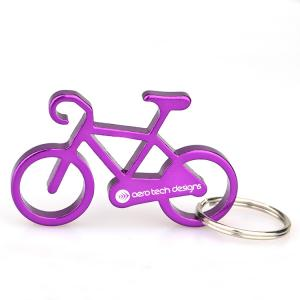 China Bicycle Truckwall Mounted Bottle Opener , Personalised Bottle Opener Engraved Pantone Color on sale
