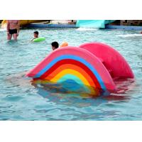 Rainbow Kids Water Slides / Kids Playing On Water Slides for Spas , Hotel