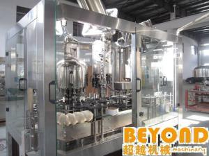 China machine réglable de remplissage et de cachetage pour le remplisseur de pression et capsuleur de boisson carbonatée on sale