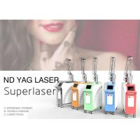 1064nm 532nm Q Switch Nd Yag Laser Machine For Tattoo Or Pigmentation Removal