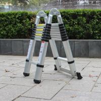 EN131 Aluminium Folding Step Ladder Telescopic double side single side ladder