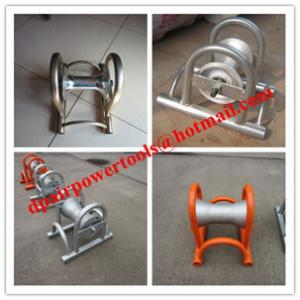 China Laying cables in ducts - Cable guide and roller stand on sale