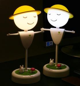 China Topshow Creative LED Lovely Touch Sensor Scarecrow Night Light For Kids on sale
