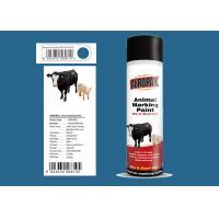 Lsuzu Blue Animal Marking Paint AEROPAK Brand ROHS Certificated For Sheep