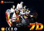 Cine electrónico del jinete del sistema 7d del cine con el juego interactivo para los niños