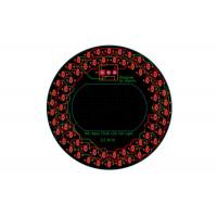 China 80mm Diameter Round LED PCB Layout Assembly For Vehicle Signal Tail Lights on sale
