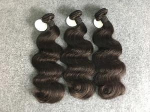China Real Natural Brazilian Weave Hair Extensions 8a Weave Bundle 10-30 Inch on sale