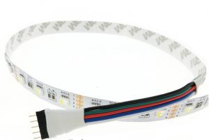 China Waterproof IP20/65 LED Strip RGBW /RGBWW, SMD 5050 chip 12V flexible light RGB+White /warm white,4 color in 1 led chip on sale
