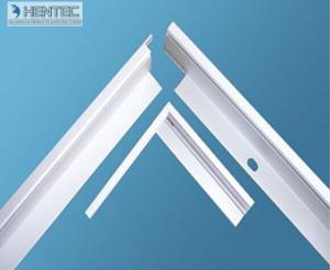 China 6063 6061 6005 Alloy Mounting Aluminum Frame For Solar Panel on sale