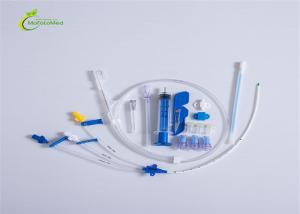 China Trocar Thoracic Drainage Catheter ,  Percutaneous Pigtail Drainage Catheter Non Irritating on sale