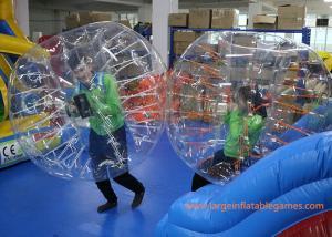 Quality O vermelho inflável claro da bola da bolha prende com correias bolhas infláveis for sale