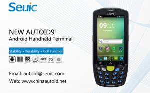 China NEW AUTOID9 Android Handheld Computer Devices PDA Smartphone With Barcode Scanner on sale