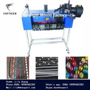 China la máquina de fabricación de cadena de la bola plástica del lazo sin fin para las persianas de rodillo parte la secuencia del rosario de la cortina on sale