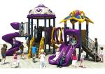 Safety Kids Playground Slide / Non - Toxic Childrens Plastic Playground Equipment
