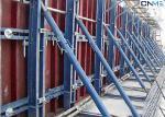 Sistema del encofrado de la pared de la construcción, tensión del encofrado de la pared del esquileo alta
