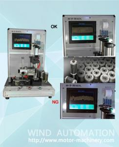 China Rotor testing panel Aluminum die casting rotor testing machine WIND-RT-1 for  AC induction motor diecast rotors testing on sale