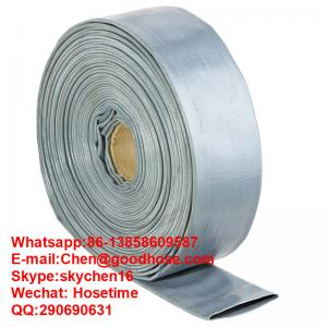 China High Pressure - Heavy Duty PVC Lay Flat Discharge Hose 50', 100' & 300' long on sale