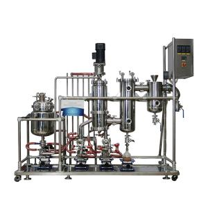 China High Purity Herb Extraction Machine Short Path Molecular Distillation Process Cbd Extraction on sale