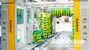 China Car wash equipment with three drying blower fans, rollover wash systems on sale