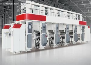 China Arc System Automatic Printing Machine 750mm Rewinding Diameter Rotogravure Instrument on sale