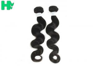 China 7A Grade Natural Human Hair Extensions / Body Wave Brazilian Remy Human Hair Weave on sale