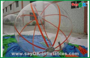 China Summer Transparent Inflatable Water Poll Ball Water Games Hamster Ball For Humans on sale