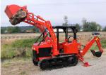 35Hp Mini Dozer Agricultural Farm Crawler Tractor Track with Backhoe Loader