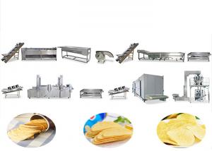 China HFD Manufacturer Automatic Chips Making Machine Potato Chips Making Plant on sale