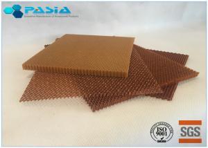 China Jacquard Treatment Aramid Honeycomb Panels With Epoxy Resin Fungi Resistance on sale