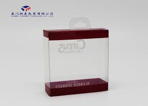 China Sponges Packing Clear Hard Plastic Box Offset Printing 300 Micron PET Thickness on sale