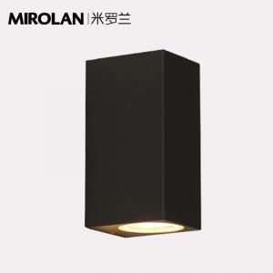 China MIROLAN Outdoor Wall Light Fixture 10W , LED Outdoor Wall Lamp Modern Porch Light 5.9*3.1*2.7 inches on sale