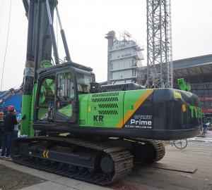 China Max. torque 125kN.m Drilling diameter 1300mm Drilling depth 37m/45m TYSIM KR125A rotary drilling rig on sale