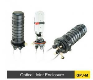 China Plastic Fiber Optic Splice Enclosure , 24 - 288c Outdoor Fiber Joint Box on sale