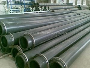 China hdpe dredging pipe with pipe floater on sale