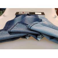 Premium Coated Printed Denim Fabric / Indigo Japanese Denim Fabric Twill Style