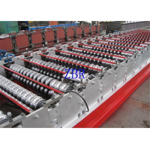 China la largeur de 1250MM a glacé couvrir le petit pain ondulé de feuille formant la machine à faible bruit on sale