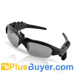 China Gafas de sol del reproductor Mp3 de Bluetooth - 4GB on sale