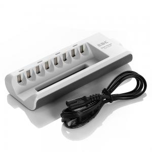 China Quick Charge Rechargeable Battery Charger , 8 Slot nimh battery charger RoHs Certified on sale