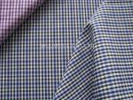Мягкая пряжа 100% хлопок Хандфел покрасила ткань шотландки простого Веаве ткани Женщин-специфическую