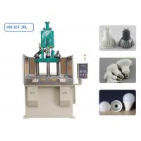 China 85T 3 Stations Plastic Injection Moulding Machine 4 Cavities For LED Lamp Housing on sale