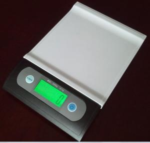 China 7kg / 1g Portable Digital Scale White / Black With LED Backlight on sale