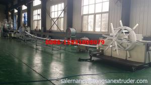 China 2015 new design PE double wall corrugated pipe machine on sale