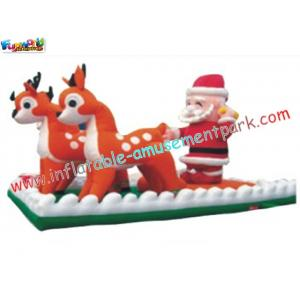 China Outdoor Inflatable blow up christmas festival decorations snowman, Santa claus Promotional on sale