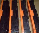 Cartucho de toner compatível da cor de CB540A CB543A para a impressora 1210/1215 de HP