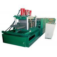 Size Adjustable CZ Purlin Roll Forming Machine , Z Purlin Making Machine Auto Control