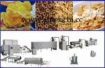Flocos de milho que fazem a máquina