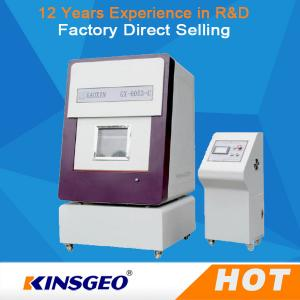 China Aluminum Mesh PLC human touch interface Battery projectile Testing Machine with Size 750 x 750 x 1000 mm on sale