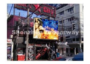 China 8000 nits P6 Outdoor Advertising LED Display DIP246 EPISTAR LED Chip on sale
