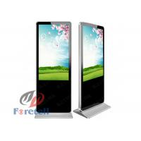 Touch Screen PC Monitor Indoor Digital Signage Free Standing Kiosk 5ms Response Time